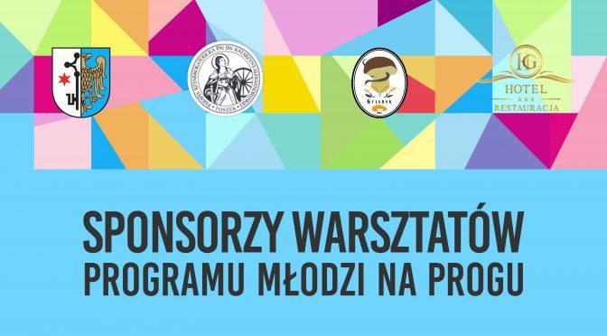 Sponsorzy warsztatów MNP w Toszku