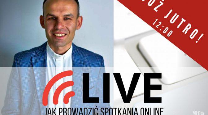 Już w najbliższy czwartek kolejny Live na naszym profilu na facebooku!